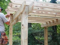 How To Build The Perfect Pergola! • Great Ideas and Tutorials! Including from 'diy network', this pergola project complete with tutorial and videos.