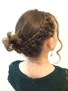 Twisted braid crown
