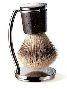 Acqua Di Parma Shaving Brush & Stand #Saks #givingsaks