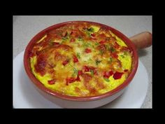 YouTube Tapas, Pasta, Cheeseburger Chowder, Quiche, Cooking Recipes, Breakfast, Mai, Youtube, Mariana
