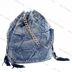 denim bag: