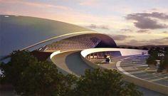 Terminal de aeroporto projetado por Rafael Vinõly é inaugurado no Uruguai | PiniWeb