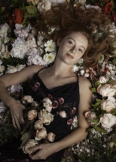 Field of flowers portrait by Artifact Photography Studio in Tucson, Arizona. Lifestyle Photography, Portrait Photography, Tucson Arizona, Glamour, Studio, Flowers, Women, Women's, Florals