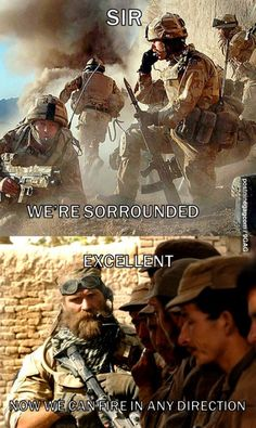 My favorite soldier quote