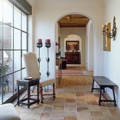 Mediterranean Hall Design, Pictures, Remodel, Decor and Ideas