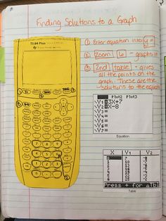 If you are anything like me you use the heck out of your graphing calculator. My students need all the tips and tricks they can get. The better they learn to use this great tool the less stressfu Algebra Activities, Maths Algebra, Math Resources, Math Math, Algebra Help, Math Writing, Kids Math, Math Fractions, Numeracy