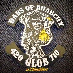 1542c52dd93 Dabs of Anarchy Hat Pin by ThePinMonger on Etsy