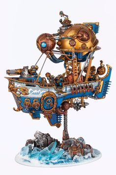 Kharadron Overlords, Eldar 40k, Warhammer Aos, Game Workshop, Hidden Treasures, War Machine, Battle, Lion Sculpture, Black Lights