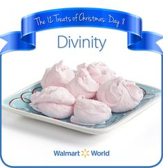 "On the eighth day of Christmas, my fellow associate gave to me … #Divinity! ""We love Divinity! It's simple to make, and it melts in your mouth. … It's a great snack for the #holidays,"" says Jacob D. of Store 1604 in Rapid City, S.D. #12DaysOfChristmasTreats #dessert #recipes"