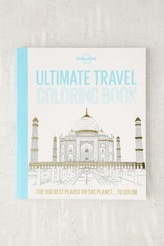 Shop Ultimate Travel Coloring Book By Lonely Planet at Urban Outfitters today. We carry all the latest styles, colors and brands for you to choose from right here. Travel Themes, Travel Destinations, Travel Ideas, Travel Inspiration, Adult Coloring, Coloring Books, Colouring, Travel Gadgets, All Things Cute