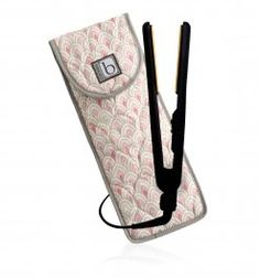 Cinda B flat iron/curling iron cover. You don't have to wait for the appliance to cool down before putting it away.