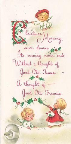 https://flic.kr/p/ax798d | Vintage Greeting Card - Christmas