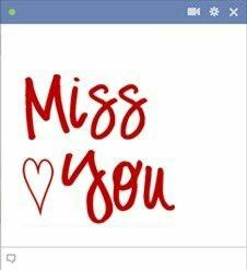 Miss You, I Miss U, I Miss You