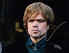 Signed Dinklage, Peter (Game of Thrones) 8x10 Photo autographed