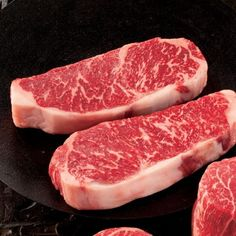 Wagyu (Kobe) Sirloin Strip Steak this is one of my favorites if you not in the know get in the know
