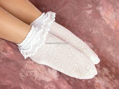 Frilly Socks, Lace Socks, Ankle Socks, Girly Stuff, Girly Things, Unique Fashion, Womens Fashion, Sexy Socks, Sexy Feet