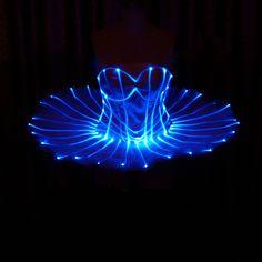 LED light Ballerina ballet tutu skirt ET001 - $955