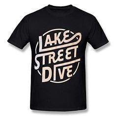 HUIMIN Men's Lake Street Dive T-shirt http://www.beststreetstyle.com/huimin-mens-lake-street-dive-t-shirt/ #fashion   HUIMIN Men's Lake Street Dive T-shirt HUIMIN Men's Lake Street Dive T-shirt. Art Heat Press Print On Front. Wash Inside Out In Cold Water, Hand Dry Recommended.