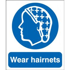 10 Visitor Hard Hat Stickers \ Safety Helmet Decals \ Plant Factory Training