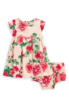 Ruby & Bloom Floral Print Dress & Bloomers (Baby Girls) available at #Nordstrom