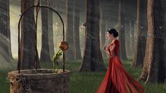 """The Frog Prince - Inspired by a Grimm Brothers """"The Frog Prince"""" fairy tale."""