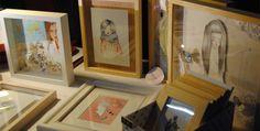 Raquel Carrero ilustración en Sweet Market Valencia. Imagen de Destaca-te