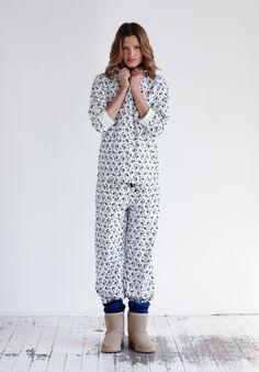 Birdie Print Pyjamas