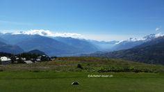 Golf de Crans-Montana #golf #suisse #paysage #crans