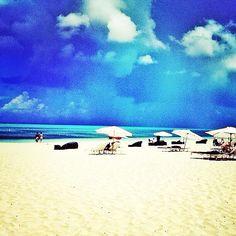 Sand, sea, sky. #Bliss #TurksandCaicos