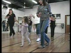 Great example of a Mommy & Me Dance Class that actually engages the parents as well as the kids.