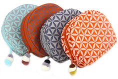 Flower Of Life Cosmetic Bag