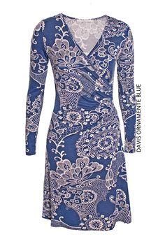 Davis Ornament Blue von KD Klaus Dilkrath #kdklausdilkrath #kd #dilkrath #kd12 #outfit #dress