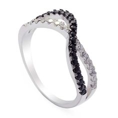 Qiharice Sterling Silver Rings Cubic Zirconia