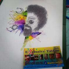Raul Seixas watercolor