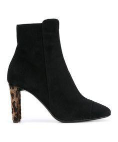 GIUSEPPE ZANOTTI | Giuseppe Zanotti Design Women's  Black Suede Ankle Boots #Shoes #Boots & Booties #GIUSEPPE ZANOTTI