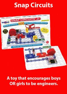 Snap Circuits - awesome scientific toy AND encouraging hand-eye coordination while patching! For when A. is older.....