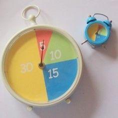Zelf minutenklok maken. Beelddenkers hebben weinig inzicht in tijd en tijdsverloop. Er zijn verschillende hulp-klokken op de markt maar die zijn best prijzig. Bovendien heb ik nog geen klok gevonden die een relatie heeft met de gewone klok. Aan de slag! Met de minuten-klok krijgen kinderen een beter beeld van tijd. De maat van de minuten-vlakjes correspondeert met …