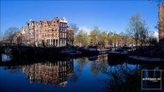 Amsterdam, Prinsengracht, Brouwersgracht april 2016. Foto: Schlijper.nl