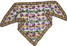 Christel Seyfarth   Flora shawl