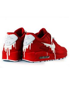 49ab25b19704 Deals Nike Air Max 90 Candy Drip Gradient Black Red Trainer   Shoes from UK  online store