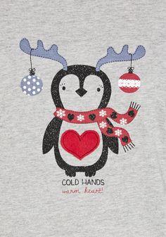 Clothing at Tesco | F&F Penguin Fair Isle Fleece Bottoms Pyjamas with Gift Box > nightwear > Nightwear & Slippers > Women
