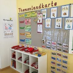 Classroom Organisation, Classroom Management, Learn German, School Classroom, First Grade, Montessori, Back To School, Diy And Crafts, Kindergarten