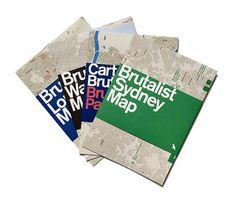 Brutalist SydneyMap, Brutalist London Map, Brutalist Paris Map and Brutalist Washington Map. (Please note this...