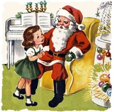 Santa and little girl* Free 1500 paper dolls at Arielle Gabriels The International Paper Society also free China Japan paper dolls The China Adventures of Arielle Gabriel for Pinterest friends *