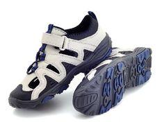 Boys Girls Lands End Grey Trekker Walking Hiking Sandal Shoes