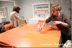 A great tutorial on using Annie Sloans Chalk paint and wax.  This helps to get the best possible results