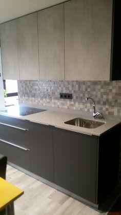 Mi nueva cocina en tonos grises...