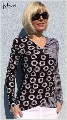 Raphaela Wrap-Shirt E-Book (ca 6.00 EUR)   lasari
