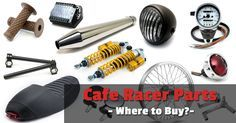 Are you looking for Cafe Racer Parts? Read this before you start buying, we've selected the best and most trustworthy cafe racer parts suppliers for you!