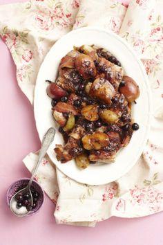 Vark filet met appel Pork Fillet, Chicken, Recipes, Food, Pork Tenderloins, Recipies, Essen, Meals, Ripped Recipes